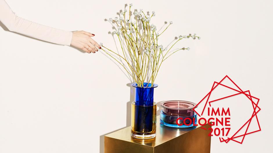 Vasen- und Schalenserie Tricolore von Sebastian Herkner für &tradition