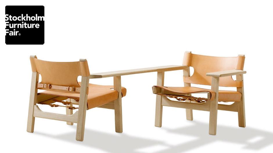 Alfredo Häberli interpretierteBørge Mogensens Spanischen Stuhl (1958) für Fredericia.
