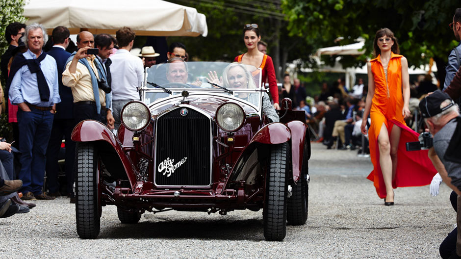 """Der Hauptpreis """"Best of Show"""" ging an einen 1932er Alfa Romeo 8C 2300 Spider."""