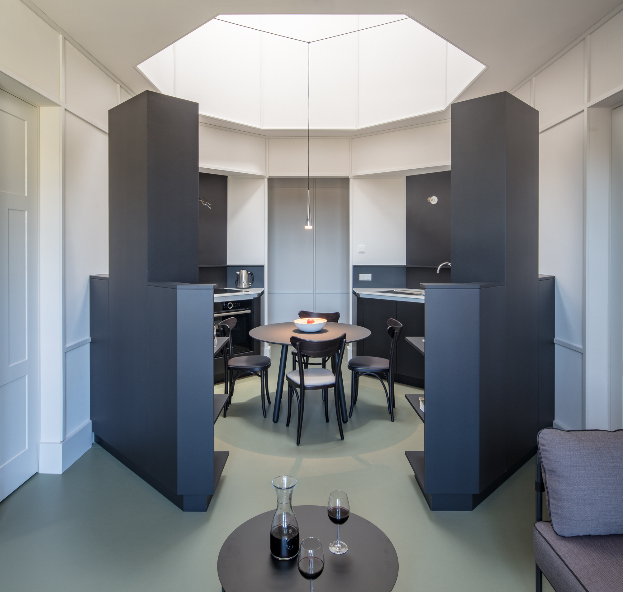 ApartmentHimmelszelt, 53 Quadratmeter. Foto: Till Schuster