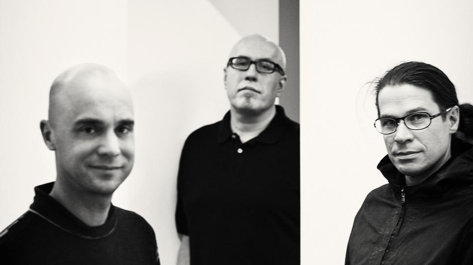 V.l.n.r.: Mårten Claesson, Eero Koivisto und Ola Rune, Foto: Knut Koivisto
