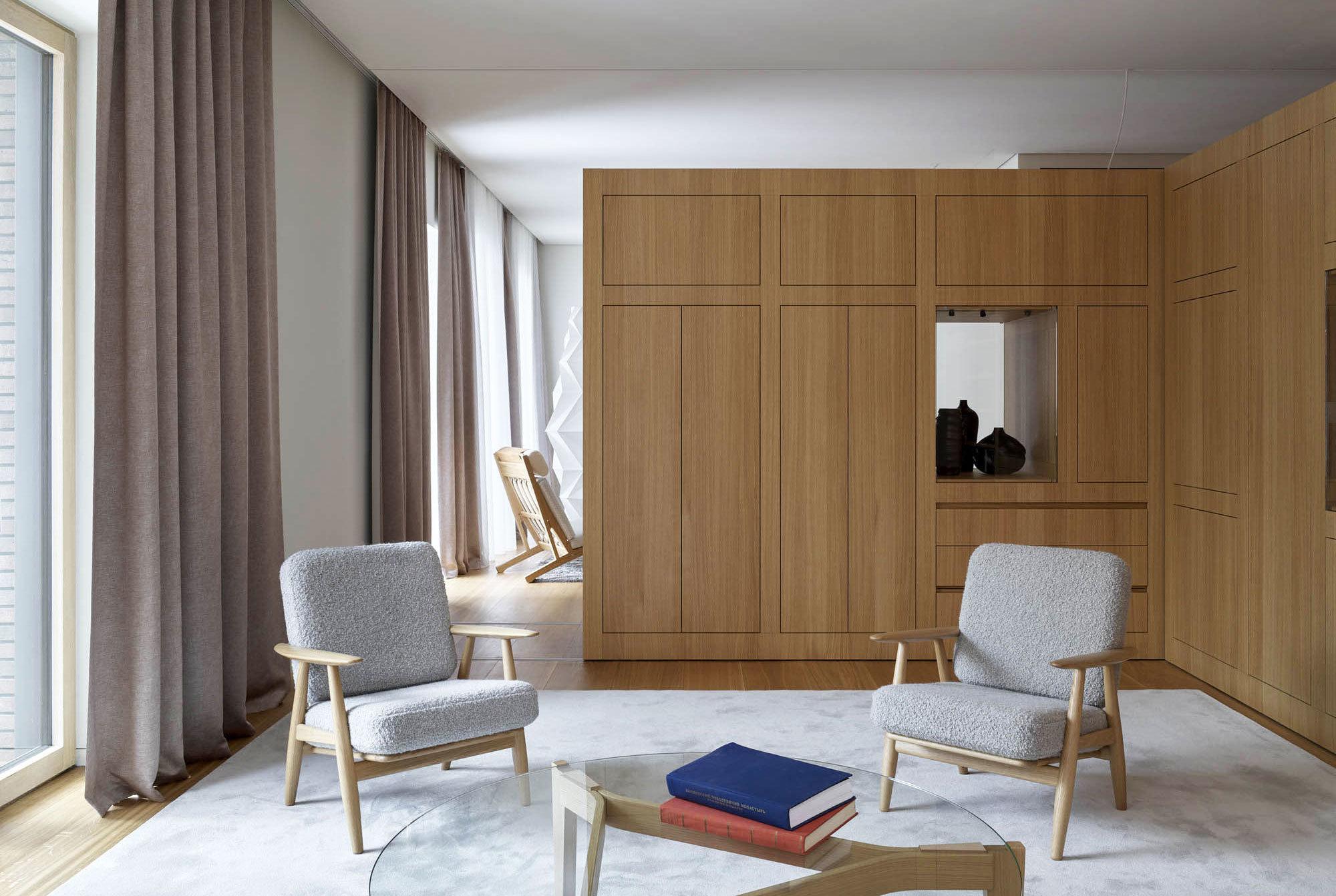 In Moskau entwickelten die Hamburger Architekten Vietzke & Borstelmann mit der Lichtplanerin Ulrike Brandi ein hochflexibles Wohnkonzept.