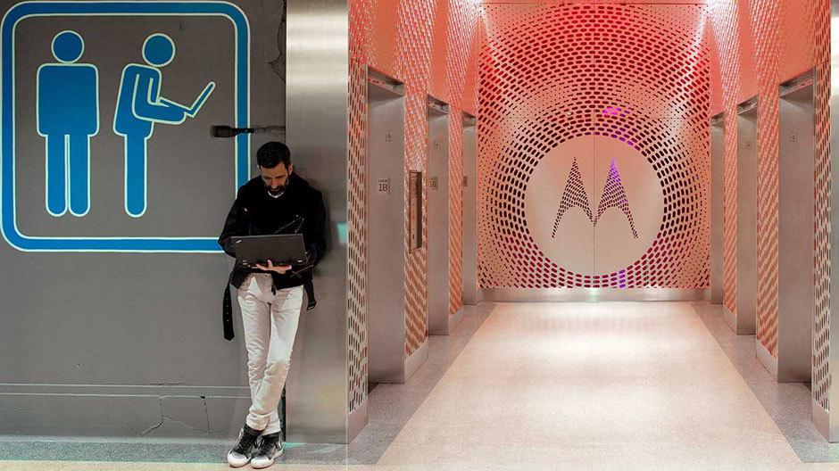 Aus der Vorstadt ins Zentrum: die neue Motorola-Zentrale in Chicago