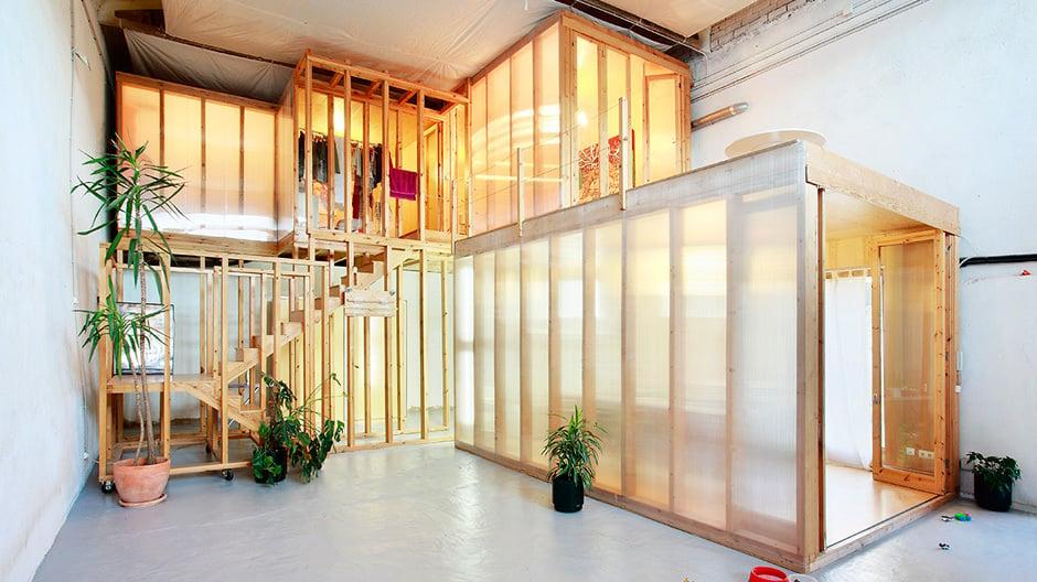 Spanischer Pavillon: Cinema Lidia, Riudecols, Architekten:Núria Salvadó und David Tapias