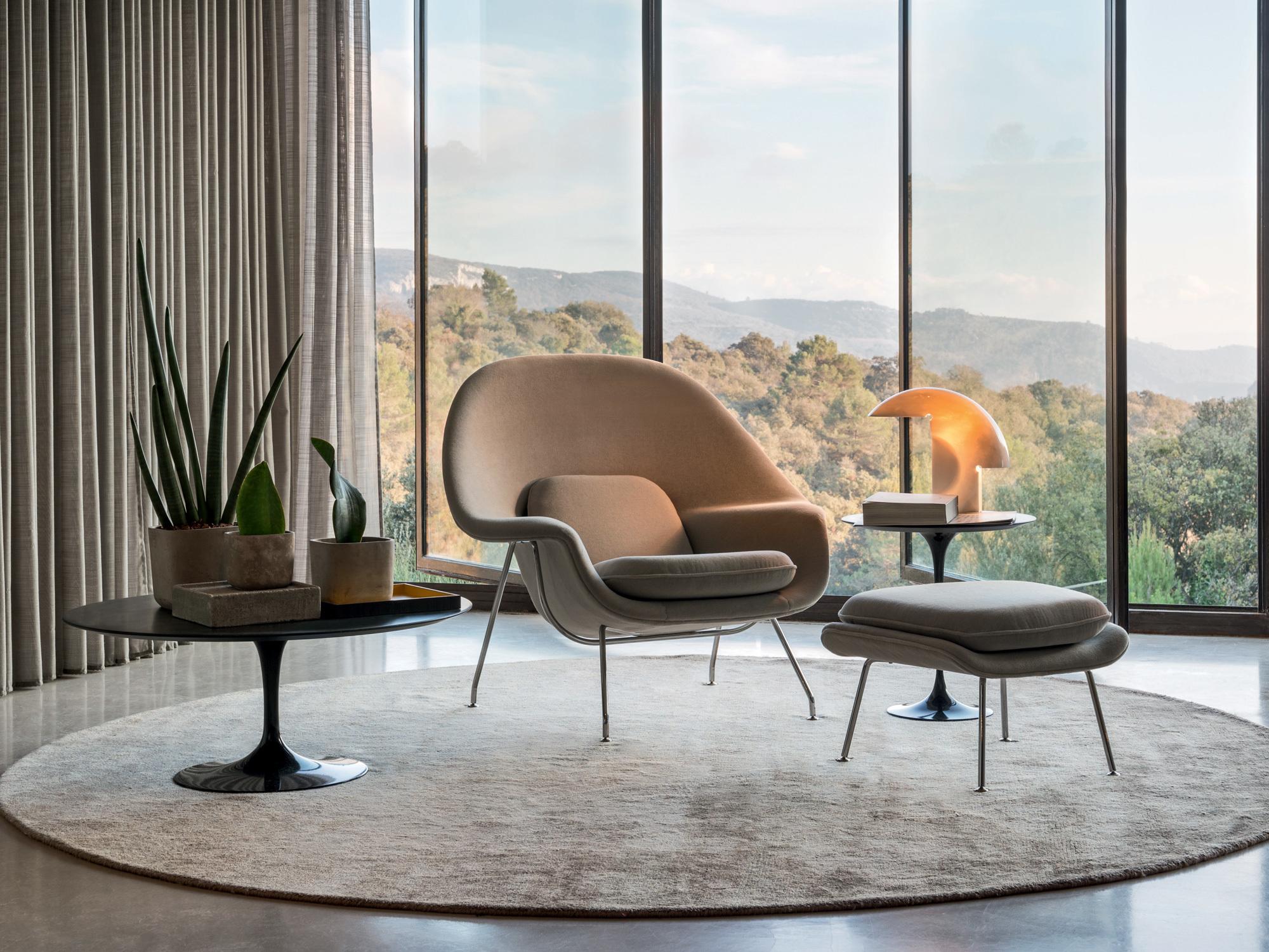 Womb Chair von Eero Saarinen für Knoll International. Foto: Knoll International