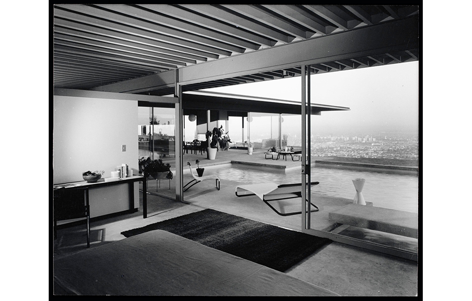 Stahl House, Case Study House Nr. 22, Pierre Koenig, Los Angeles, 1959. Foto: Julius Shulman, 1960. © J. Paul Getty Trust. Getty Research Institute, Los Angeles. (2004.R.10)