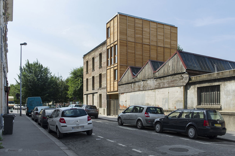 Französischer Pavillon: Au Bon Coin, Saint Denis,Atelier d'Architecture Ramdam