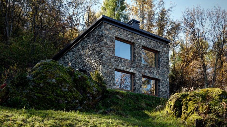 Alle guten Dinge sind bekanntlich drei. Auf diese Regel setzte der Architekt Alfredo Vanotti bei der Planung eines Wohnhauses in den italienischen Alpen. Lärchenholz, Sichtbeton und Stahl hat er auf 1.000 Höhenmetern zu einer ausgewogenen Melange zusammengeführt.