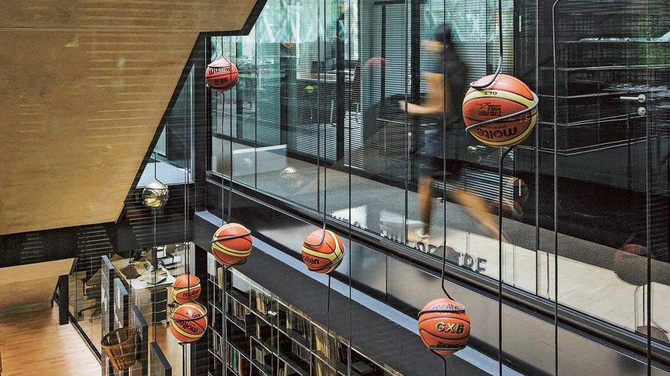 Basketball-Lampions