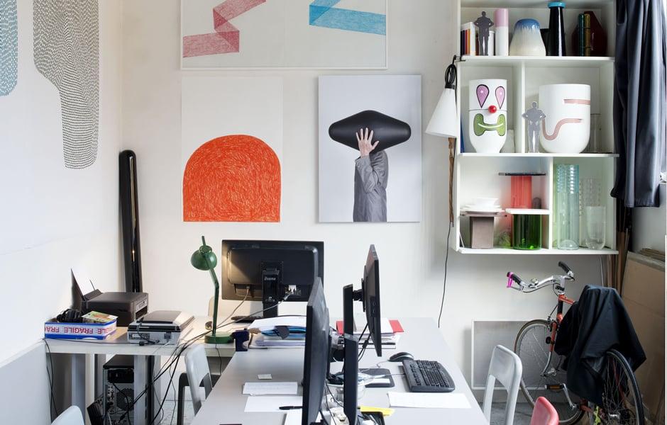 Pierre Charpins Studio bei Paris