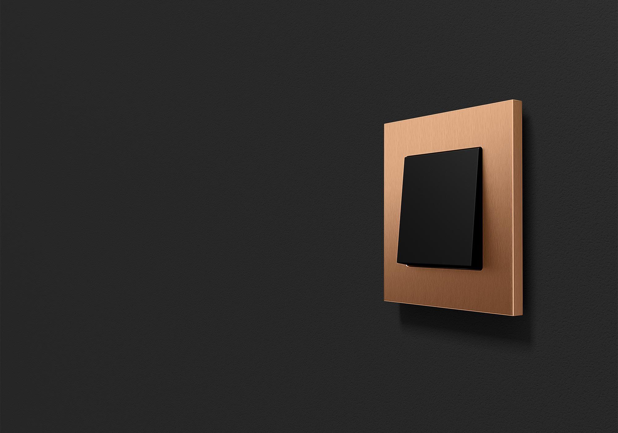 Esprit Schalterprogramm in Bronze und Schwarzmatt