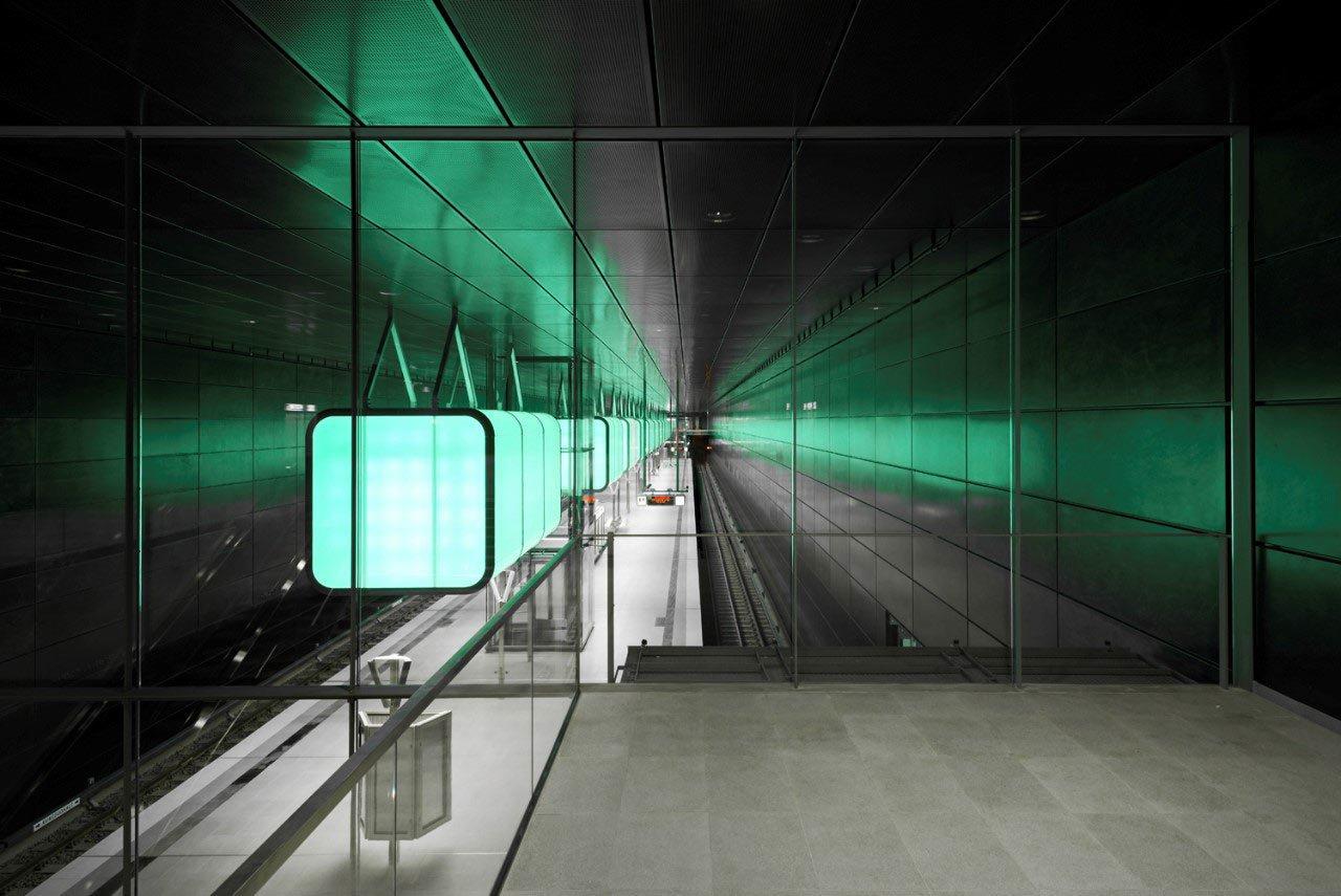 U-Bahnhof HafenCity Universität, Hamburg, Foto: Markus Tollhopf, Hamburg
