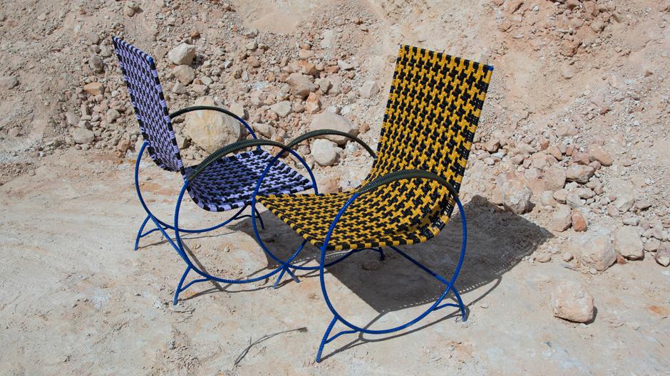 Stuhl aus der Moon-Walk-Kollektion von Marni. Foto: Marni