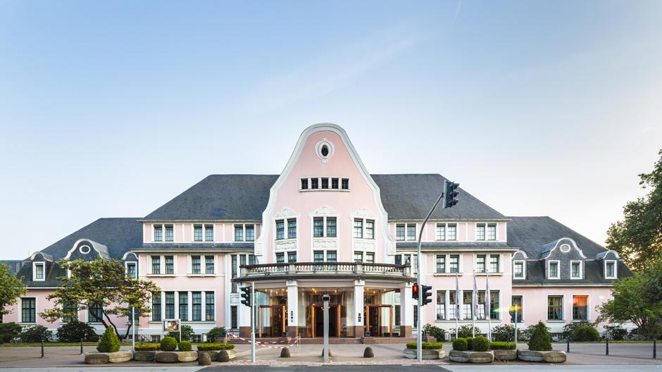 Das Bayer Kasino in Leverkusen