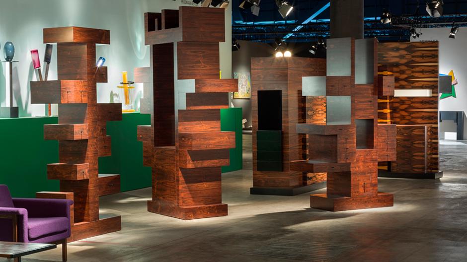 Cabinet No. 81 (2005) von Ettore Sottsass / Friedman Benda Gallery, New York