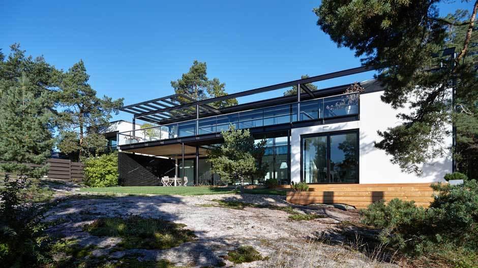 Interviewtermin im Haus von Mikko Puotila in Espoo