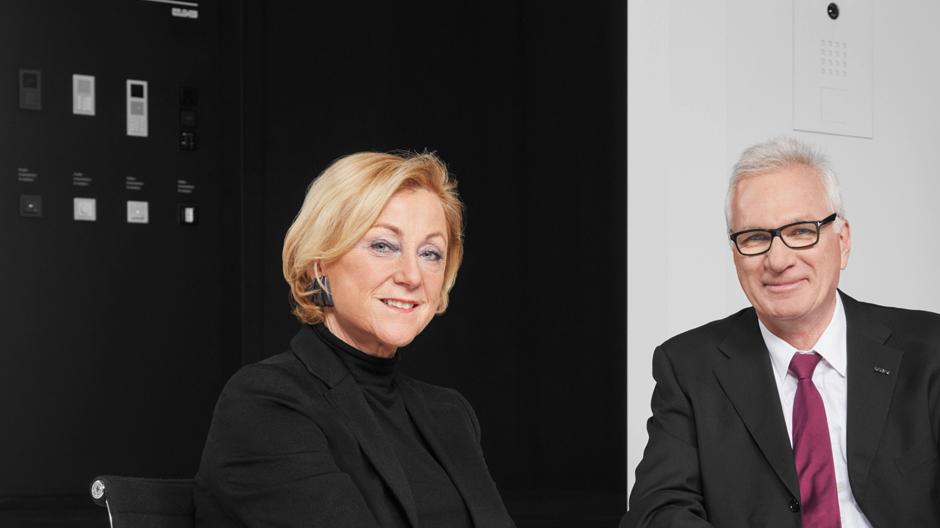 Gabriele Siedle und Harald Jung