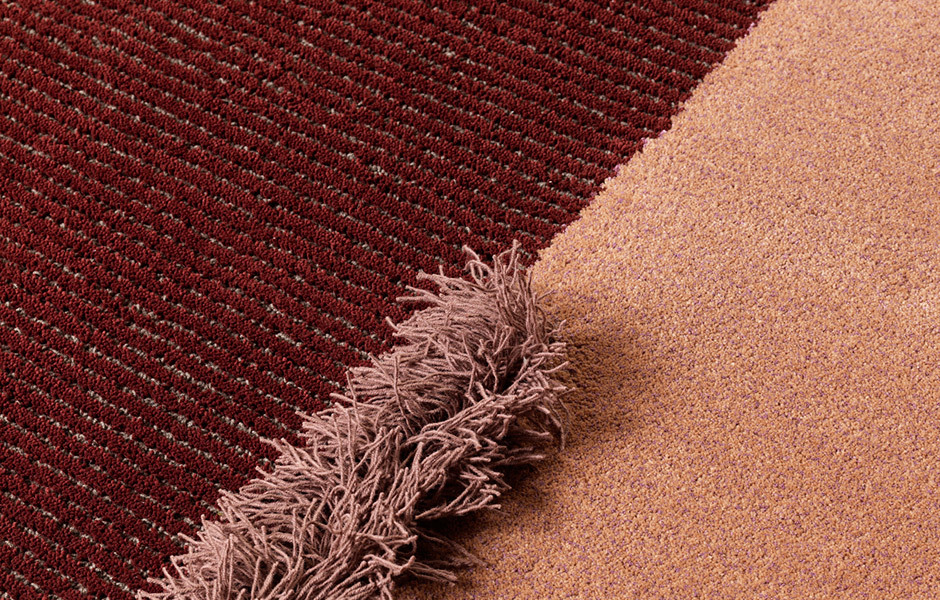 TREND #1: OPULENZStruktur, Struktur, Struktur: Teppichkollektion Selce von Studio Salaris für Carpet Edition. Foto/ Copyright: Carpet Edition