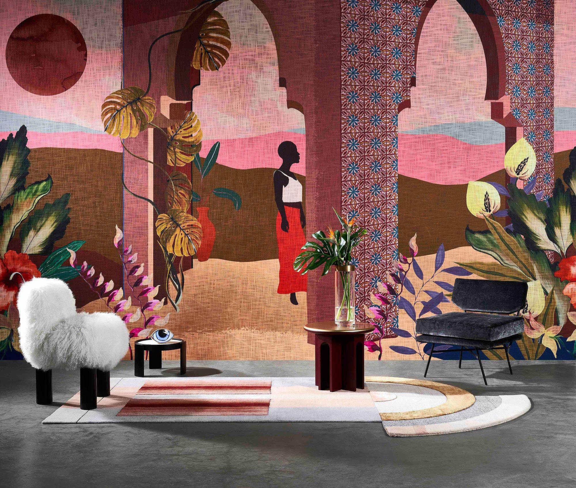 Trend #1: Ethno StyleTapete Décors & Panoramiques/ Les Mystères de Madagascar, Arte. Foto/ Copyright: Arte