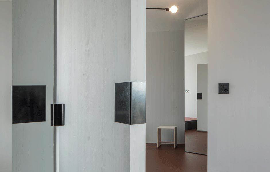 Detail des beweglichen Elements. Foto/ Copyright: ETH Zürich, Departement Architektur, Institut für Entwurf und Architektur