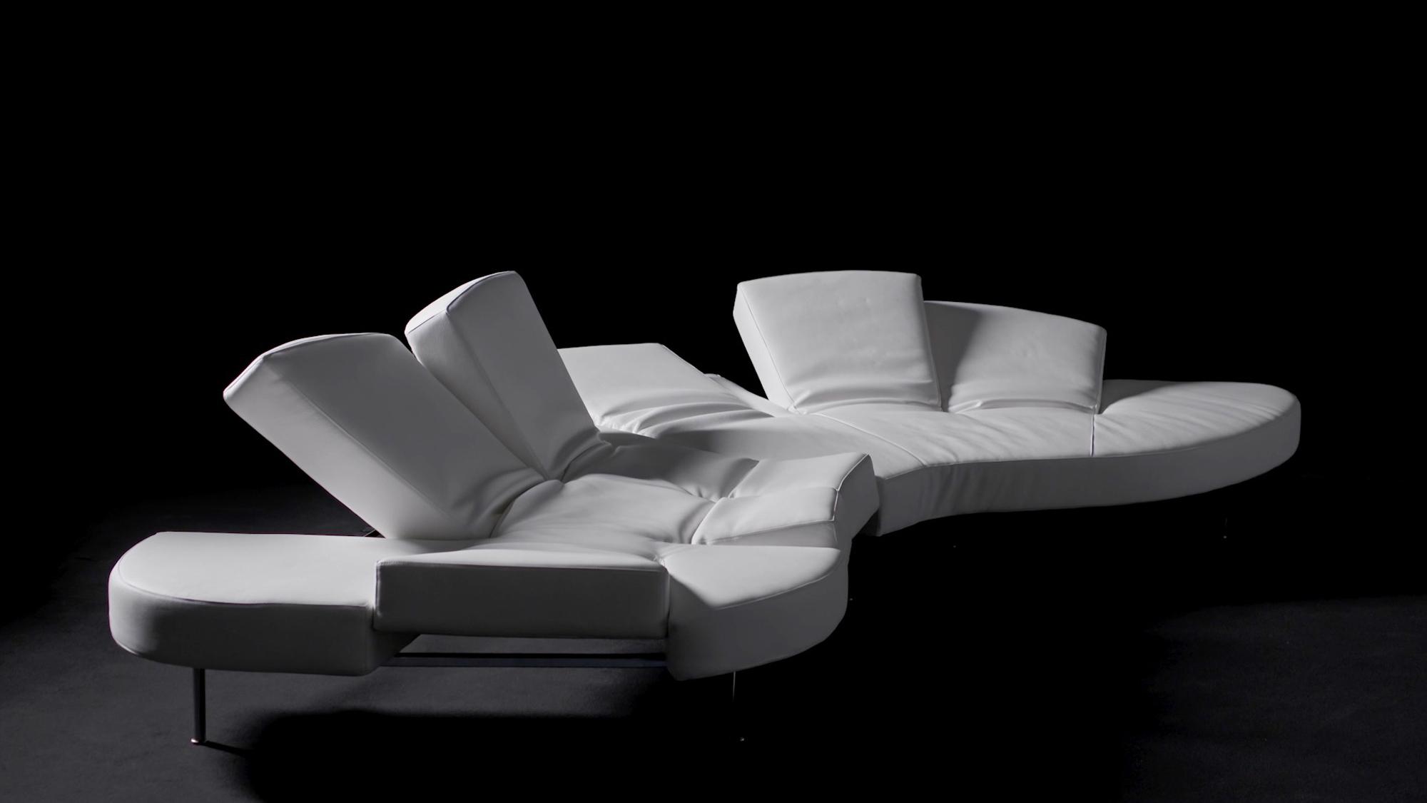 2000: Flap Sofa von Francesco Binfaré für Edra. Foto: Edra