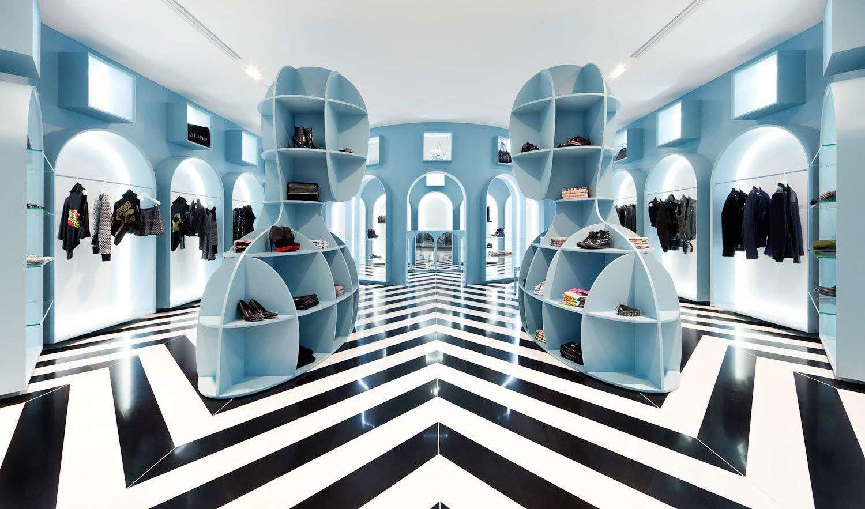 Retail-Projekte haben sich in den vergangenen 20 Jahren zu atmosphärischen Gesamtkunstwerken entwickelt. Wir stellen gestalterische Highlights vor. (Im Bild: HIT Gallery, Hong Kong, Fabio Novembre, 2013, Foto: Dennis Lo)