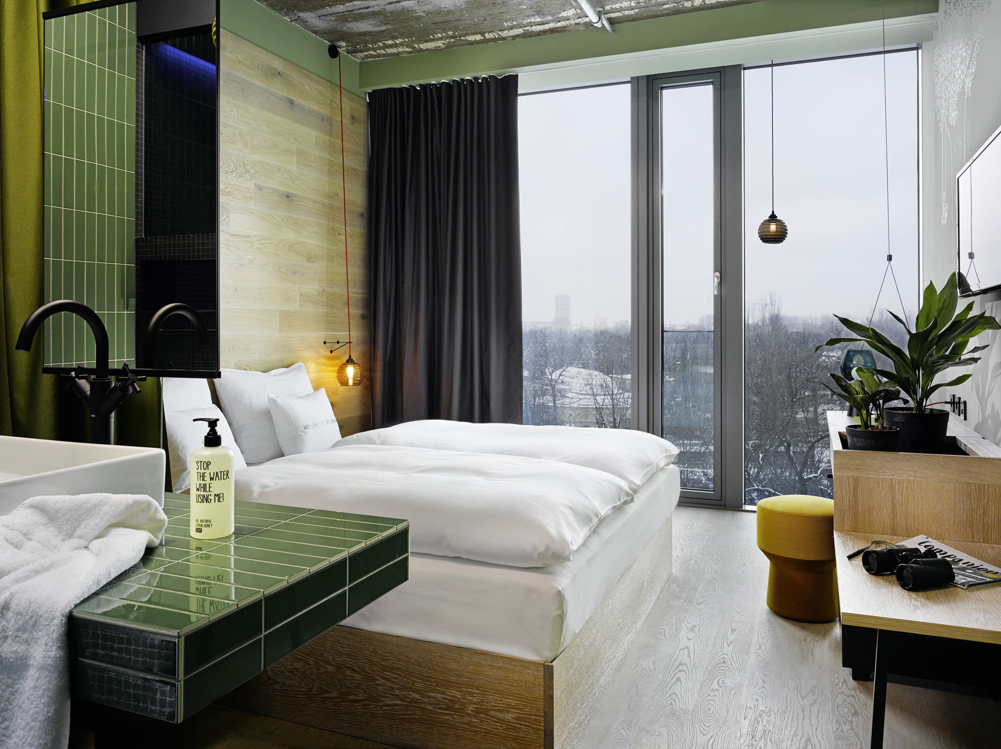 25hours Hotel Bikini Berlin von Werner Aisslinger, Berlin (2014), Foto: Studio Aisslinger