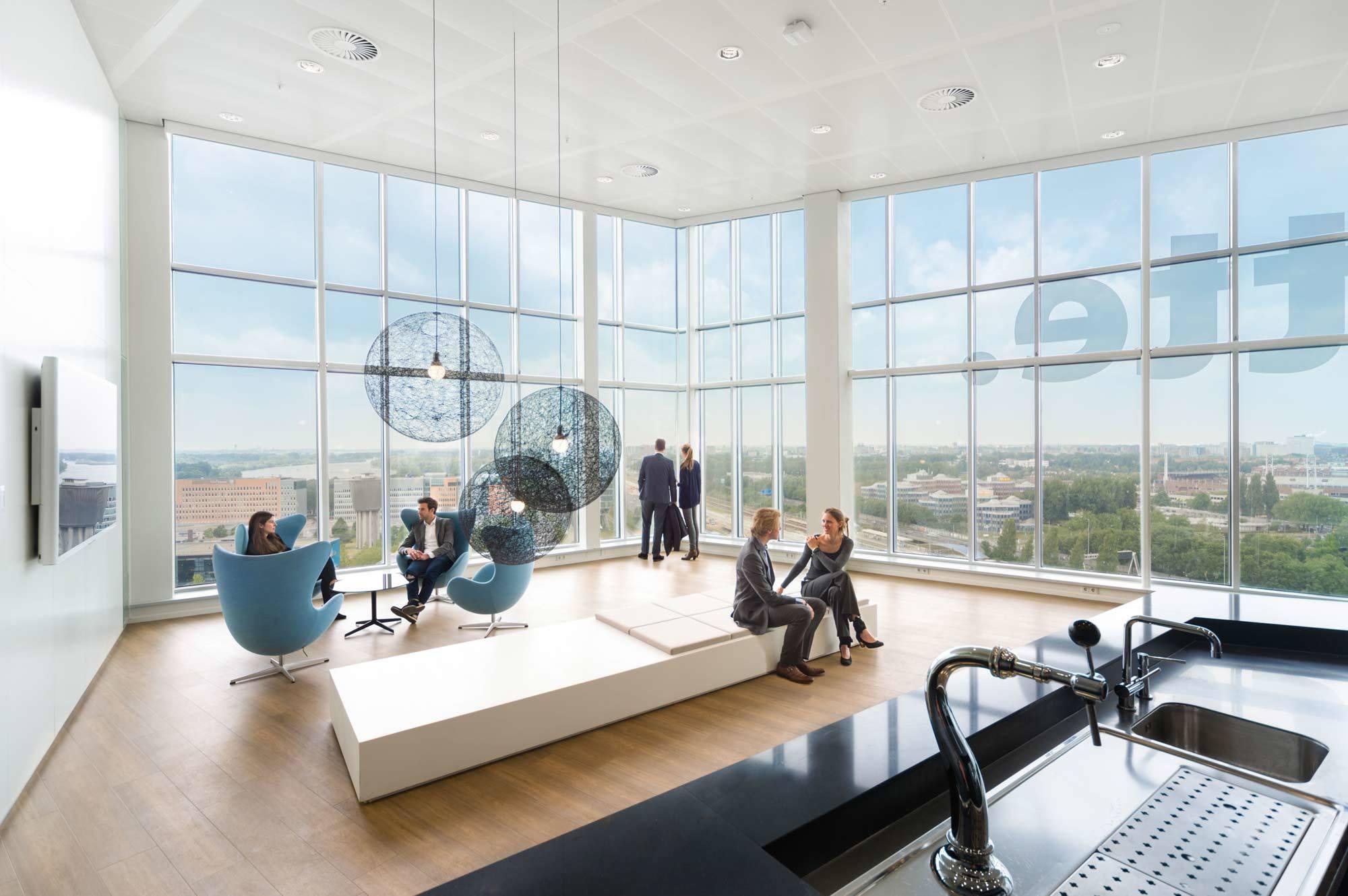 The Edge, PLP Architecture, Interior Design: Fokkema & Partners, Amsterdam, 2015, Foto: Bram Vreugdenhil