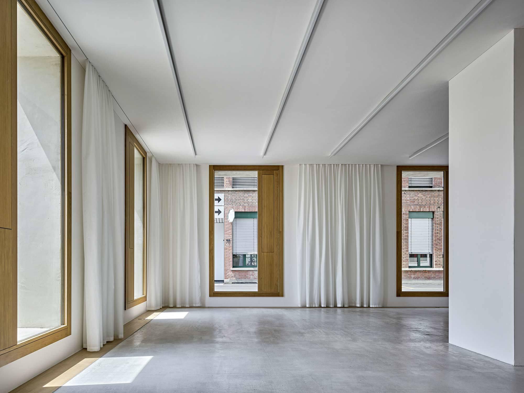 Bürogebäude 2226 Emmenweid, Schweiz, Baumschlager Eberle Architekten, 2019, Foto: Roger Frei