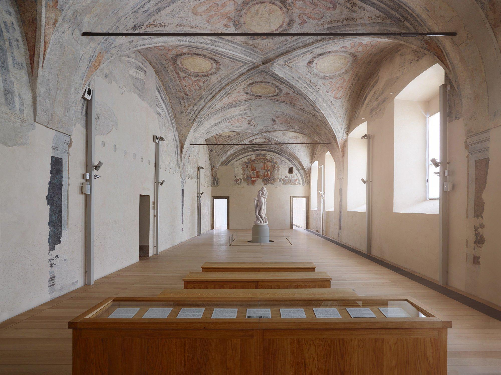 Ausstellungsdesign für die Pietà Rondanini von Michelangelo im Castello Sforzesco in Mailand, 2013-2015. Foto/ Copyright: Tom Vack