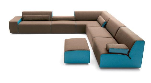 Mit diesem modularen Programm lassen sich endlose Sofas kreieren