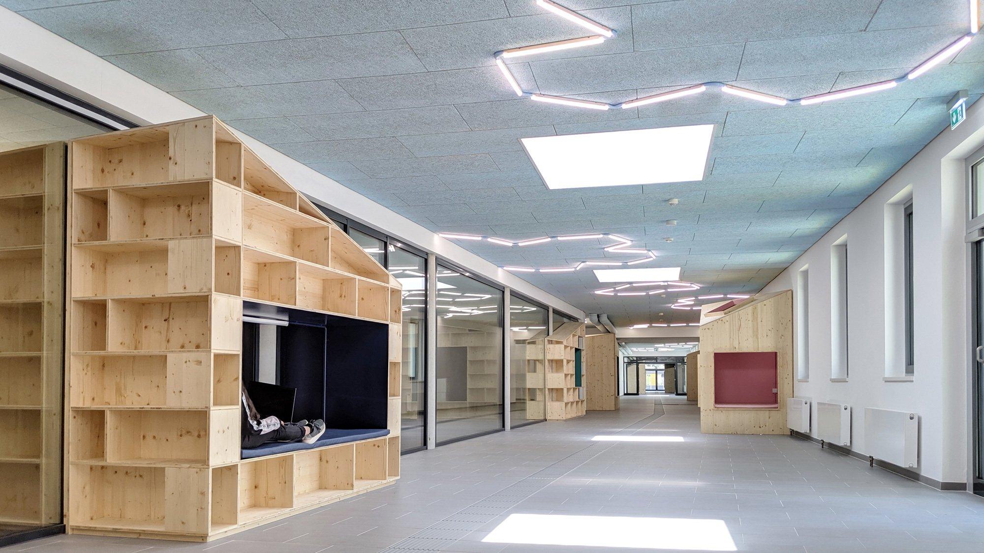 Gesamtschule Rheda-Wiedenbrück. Foto/ Copyright: Sigurd Larsen Design & Architecture