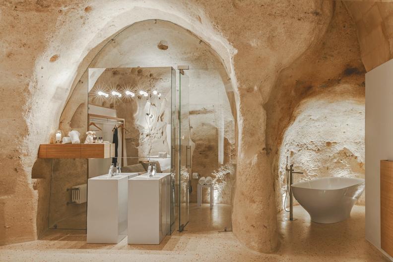 Badezimmer derSuite Metella