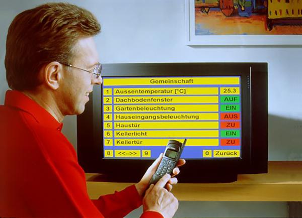 30 Jahre KNX. steuerung über den Fernseher.