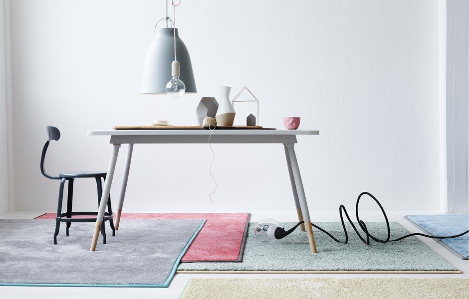 TREND #2: KÜHLE PASTELLTÖNETeppich Chill von Object Carpet. Foto/ Copyright: Object Carpet