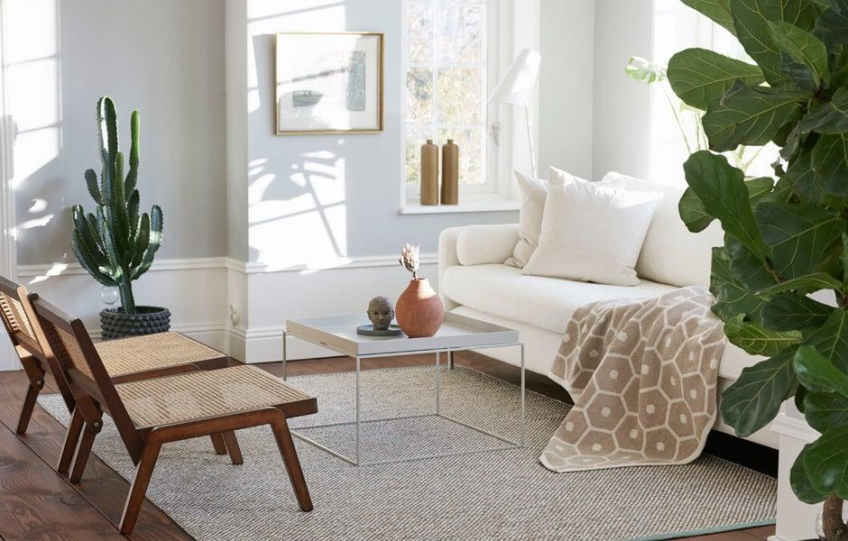 TREND #4: SCANDI LOOKDie Teppichkollektion Effi von Pappelina wird in Schweden handgefertigt. Foto/ Copyright: Pappelina