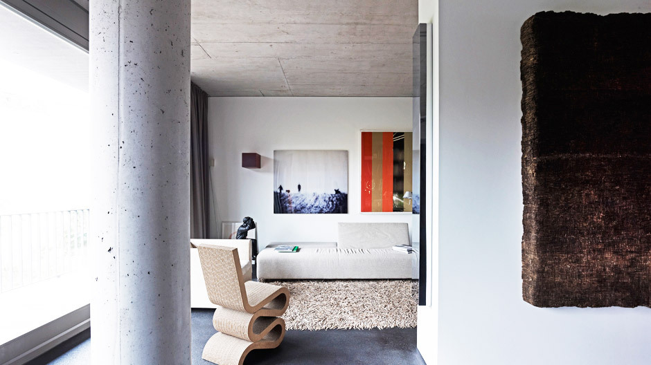 Ein 180 Quadratmeter großes Loft in Berlin Kreuzberg ist das Refugium von Architekt Frank Drewes.