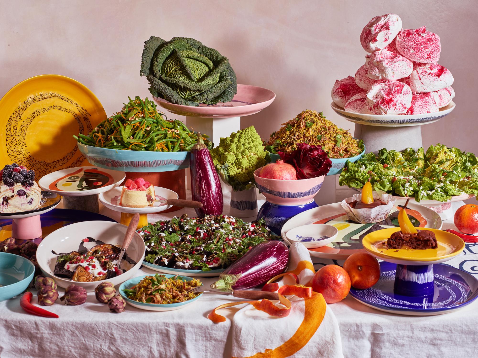 Trend #4: Spielerische ElementeYotam Ottolenghi, Feast, Serax. Foto/ Copyright: Hersteller