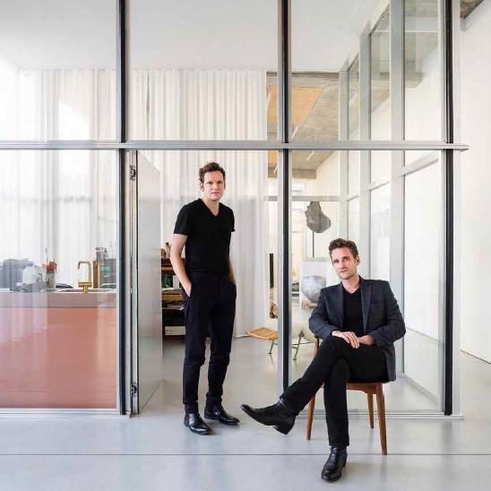 David Van Severen und Kersten Geers in ihrem Studio, Foto: © Frederik Vercruysse