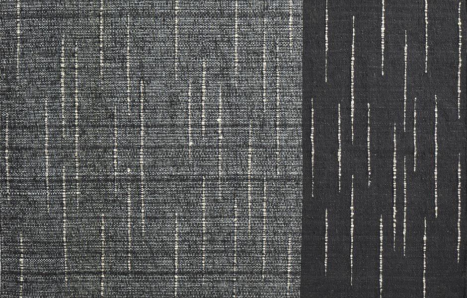TREND #6: SCHWARZ-WEISS-KONTRASTESebastian Herkner, Teppichkollektion Subas, Ames. Foto/ Copyright: Andres Valbuena