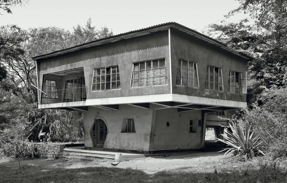 Architekt unbekannt, Le Champignon, Gitega, Burundi, um 1946, fotografiert 2009. Foto: Jean Molitor