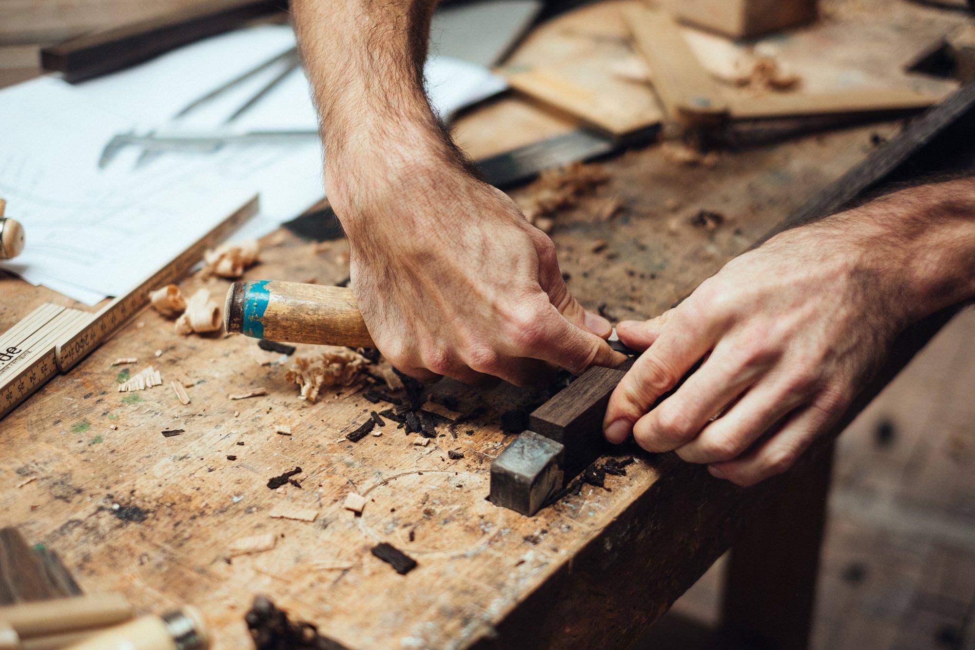Making-of ... Möbeleinbauten. Foto/ Copyright: Der Raum
