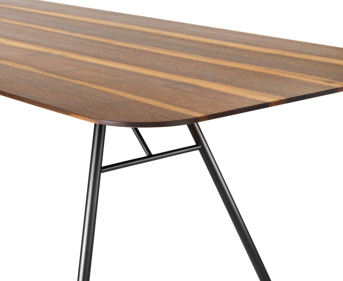 Tischplatte aus hochwertigem, nachhaltigem Massivholz