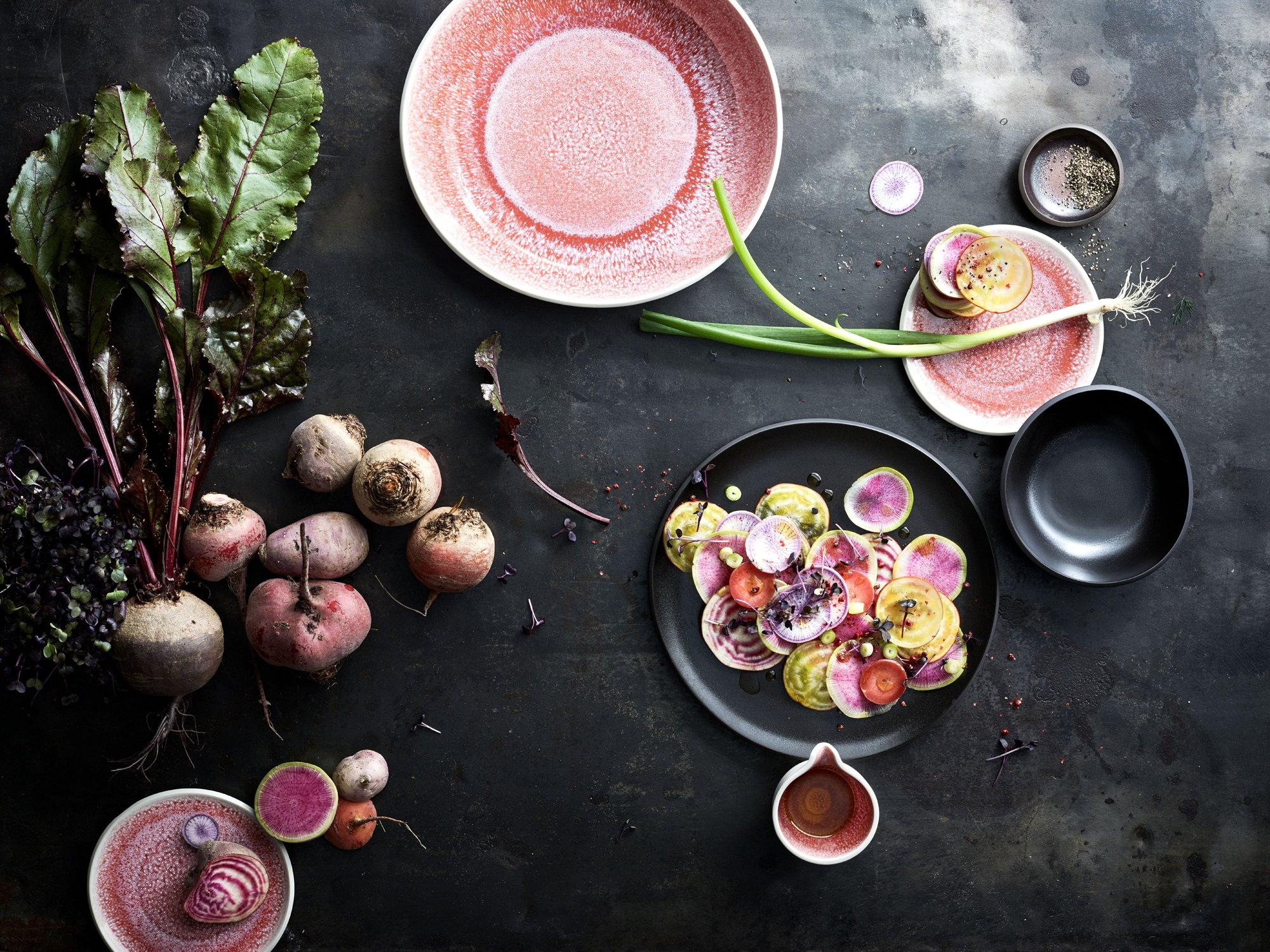 Trend #3: Nude- und Pastelltöne + kräftige FarbenKollektion Junto im neuen Farbton Rose Quartz, Rosenthal. Foto/ Copyright: Hersteller