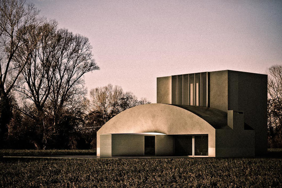 Antonino Cardillo: Vaulted House, Seven Houses for No One, 2008