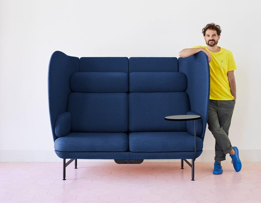 Jaime Hayon mit seinem ersten Möbel für den Objektmarkt: Plenum