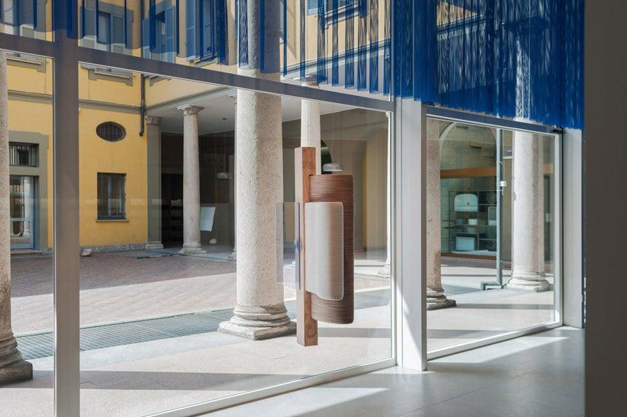 Still Frames von Doshi Levien im Showroom von Kvadrat in Mailand, 2018. Foto: Matteo Girola