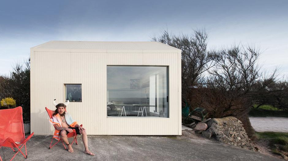 Dieses Minihaus am Meer…