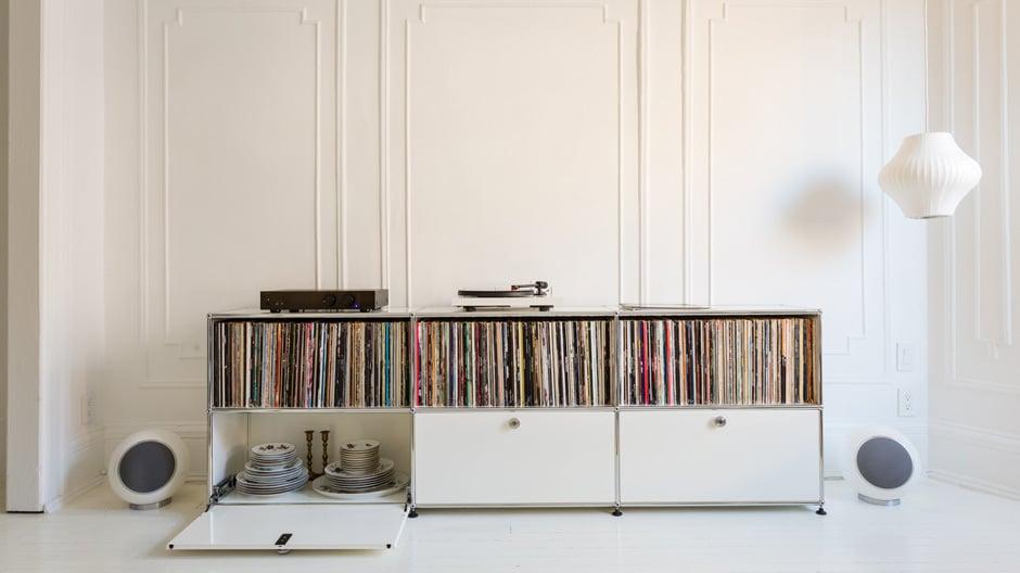 Effizient, flexibel und stabil im Wert: Das USM Möbelbausystem Haller eröffnet große Gestaltungsfreiheit… Foto: USM