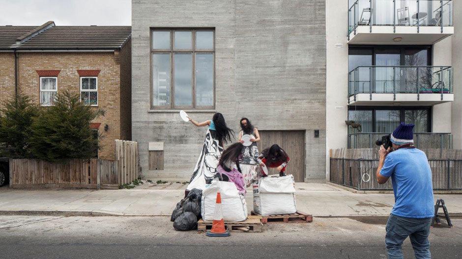 Wohnen und Arbeiten in North Kensington: Die Baustelle fotografiert Juergen Teller.